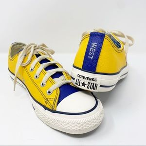 Converse Custom Made Leather Sneakers 9.5